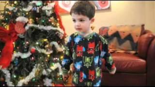Santa gives books? 'Pooh!' says 3-year old