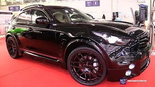 Infiniti QX70 FERZ Black Edition - Exterior Walkaround - 2016 Moscow Automobile Salon