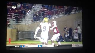 Stanford's Francis Owusu's catch of the decade! 10-16-15