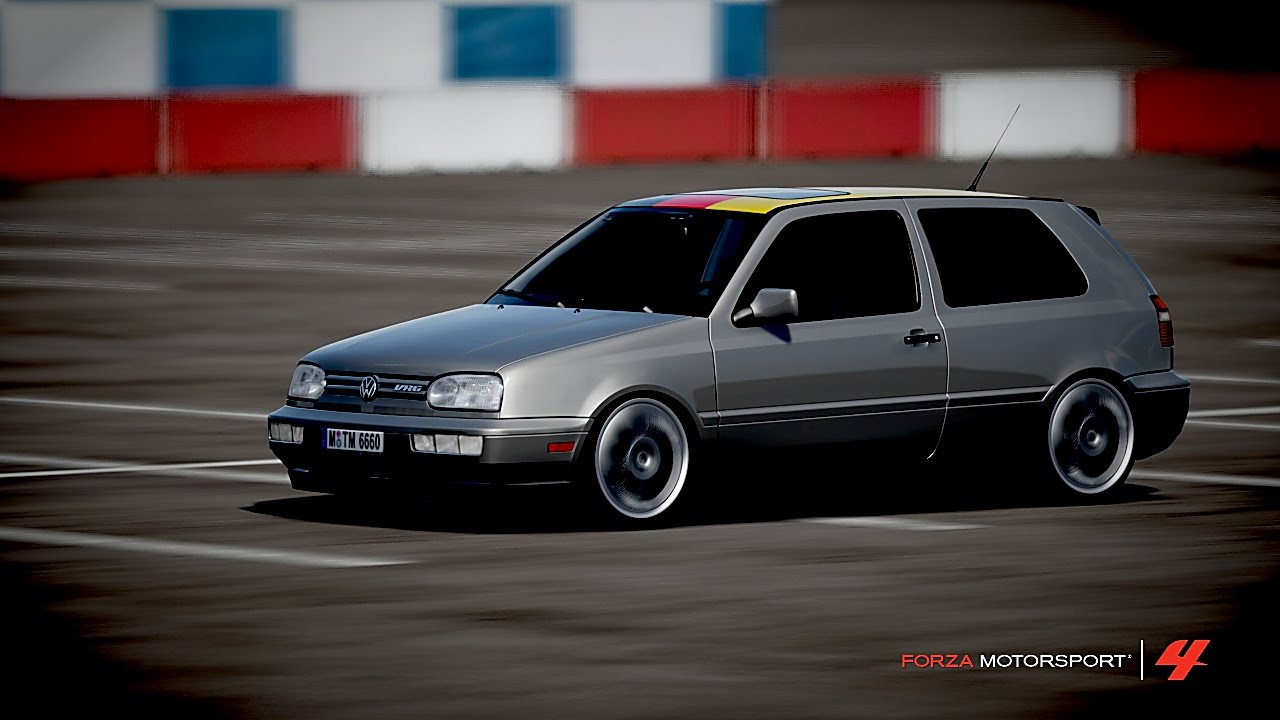 forza 4 golf mk3 vr6 top role a 300kmh youtube. Black Bedroom Furniture Sets. Home Design Ideas