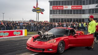 homepage tile video photo for Drag Racing & CAR MAYHEM at Cleetus and Cars (UP CLOSE & PERSONAL)