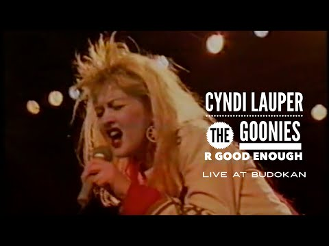 Смотреть клип Cyndi Lauper - The Goonies R Good Enough