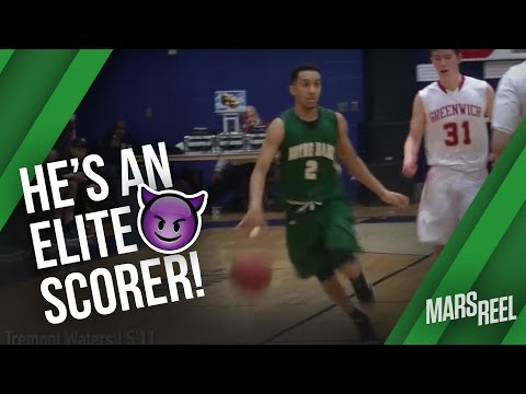 Georgetown Commit Tremont Waters Is ELITE SCORER | Notre Dame vs Greenwich