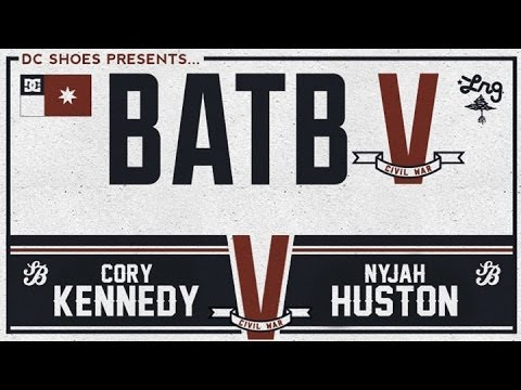 Cory Kennedy Vs Nyjah Huston: BATB5 - Round 2