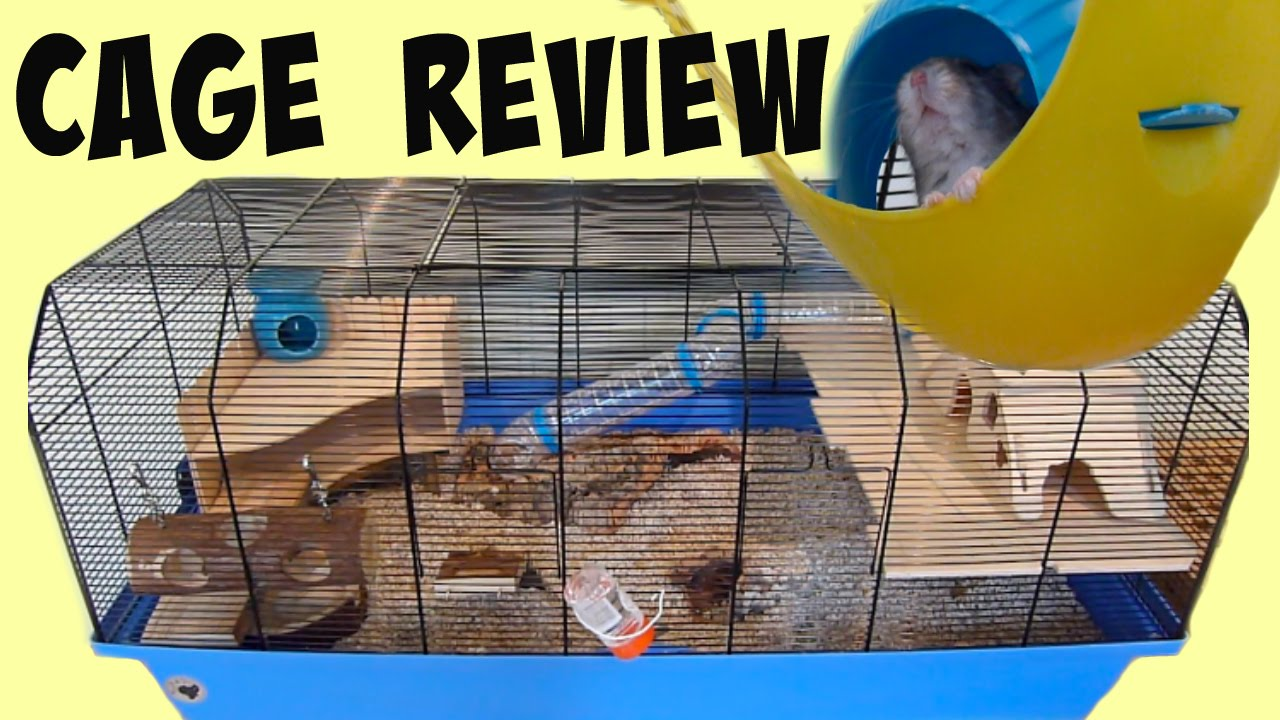 how to make a hamster bin cage