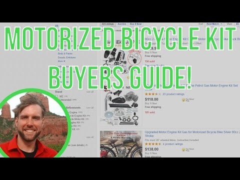 Motorized bicycle kit Buyers guide