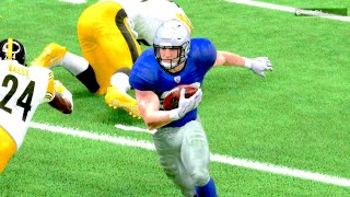 WOW Christian McCaffrey IS THE SPIN MOVE GOD! Madden 19 Ultimate Team