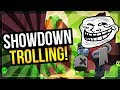 Trolling in Showdown! Betrayals & Teaming Stormy Plains - Episode 1 [Brawl Stars]