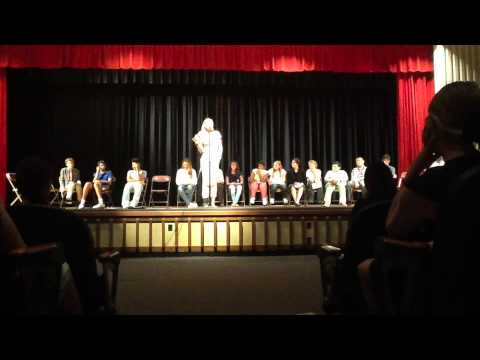 Scribner Middle School: 2014 Student Council Speeches