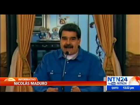 """Nicolás Maduro: """"Trump ataca la libertad de circulación"""""""