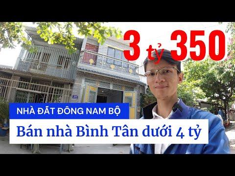 Chính chủ Bán nhà quận Bình Tân dưới 4 tỷ, Nhà đẹp 1 lầu, hẻm 8m đường số 4 Bình Hưng Hòa A