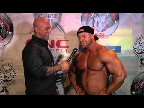 IFBB PRO Aaron Clark Interview  At The 2016 NPC Baltimore Gladiator Classic