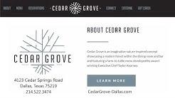 Cedar Grove Dallas Oak Lawn Texas