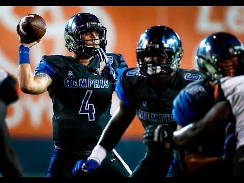 2016 American Football Highlights - Memphis 43, Kansas 7