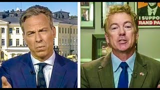 Rand Paul Boxes Tapp Jakers Face In On Foreign Policy