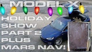 بالفيديو.. احتفال مبتكر للسيارة الكهربائية تيسلا بالكريسماس