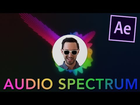 Create an Audio Spectrum in 3 minutes Tutorial   After Effects CC 2017