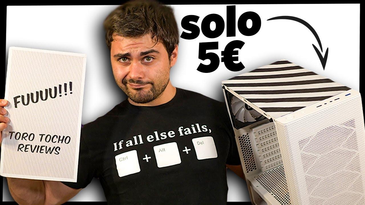 Evita el POLVO en tu PC con esto, por SOLO 5€! 💨💨