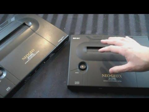 UnBoxing - Neo Geo X Gold Limited Edition Handheld Console - Adam Koralik