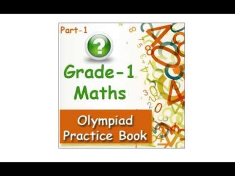 Grade 1 Maths olympiad practice book for kids - YouTube