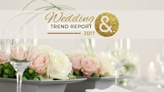 The International Wedding Trend Report 2017