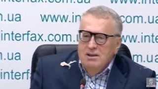 Покушение на Жириновского !!!