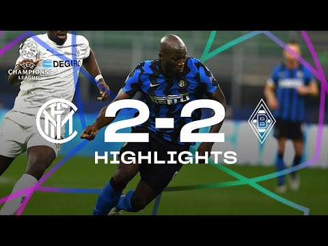 INTER 2-2 BORUSSIA | HIGHLIGHTS | UEFA Champions League 2020/21 Matchday 01