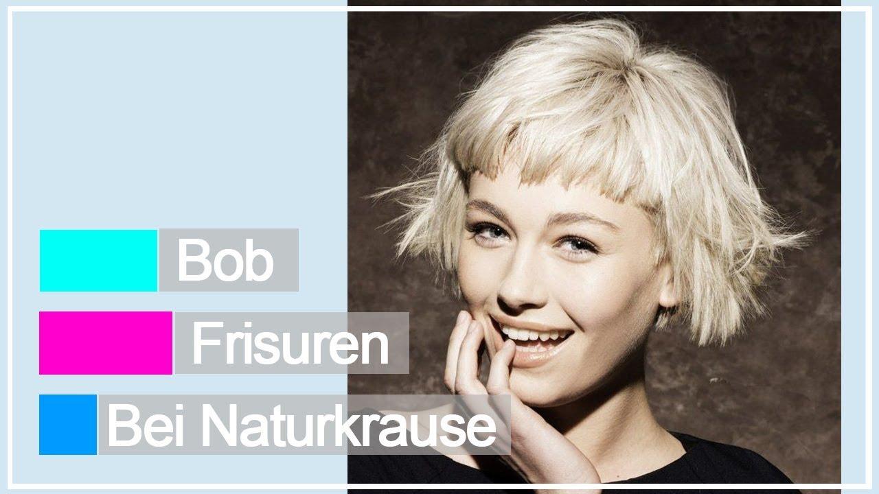 Beste Bob Frisuren Bei Naturkrause