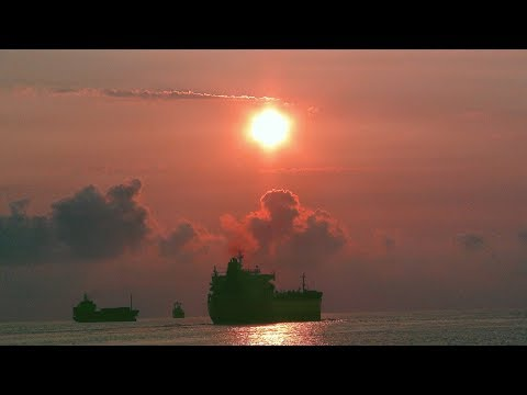 southnews_非常著名的高雄西子灣夕照 Very famous sunset in Kaohsiung West Bay