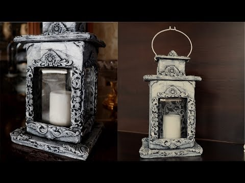 Cardboard Room  Decoration Idea/DIY cardboard Lantern  /How to make laterrn