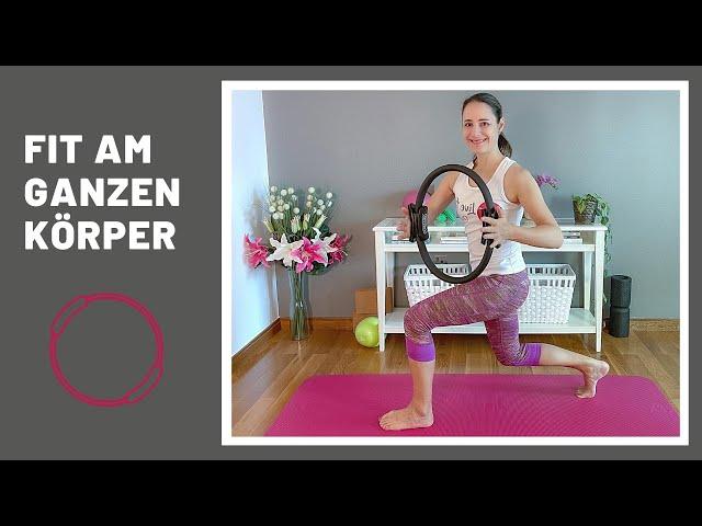 Die 10 besten Übungen mit Pilates Ring | Ganzkörpertraining Übungen mit Pilatesring