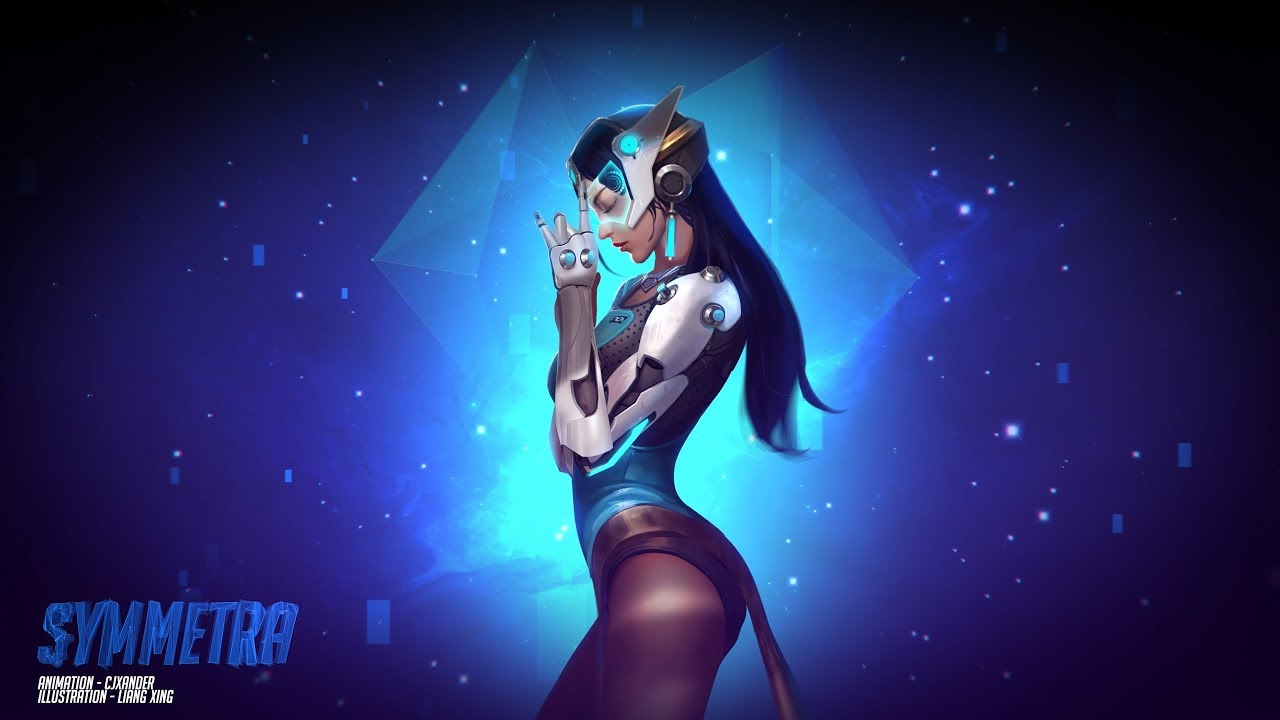 Symmetra - Animated Wallpaper (1440p