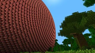 MINECRAFT 1,295,173,932 BLOCK TNT BALL (WITH EXPLOSION, AFTERMATH AND DOWNLOADS) BIGGEST EVER!