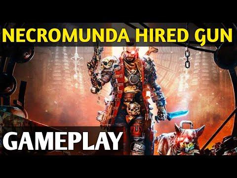 NECROMUNDA : HIRED GUN | GAMEPLAY | MEDIUM PC PERFORMANCE |