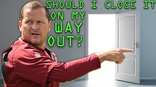Redskins Fall to Cardinals - Yes Joe Barry, Close the Door on Your Way OUT!
