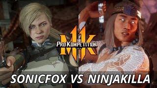MK11: SonicFox Vs NinjaKilla (Top 8) Online Cup NA East