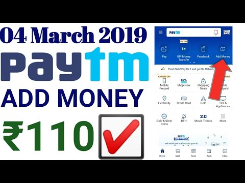 Paytm Loot Offer Add Money || 110₹ Free Gold Live Loot Offer All Users Today || New Gold Offer 2019