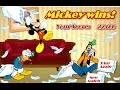 Mickey Mouse Donald Duck Goofy Friends in Pillow Fight GAME Disney Junior Games