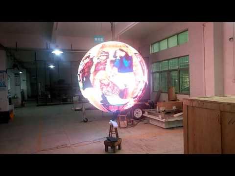 2m Diameter LED globe display for sale