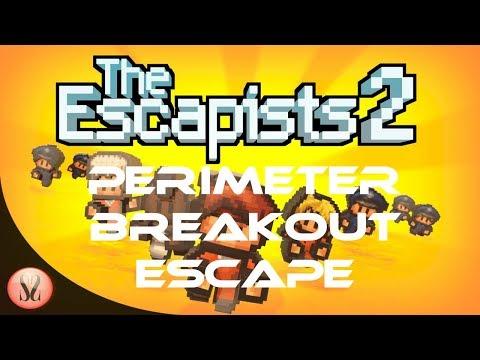 The Escapists 2 - Center Perks 2.0 - Perimeter Breakout Escape
