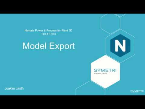 Plant 3D Naviate Model Export (eng)