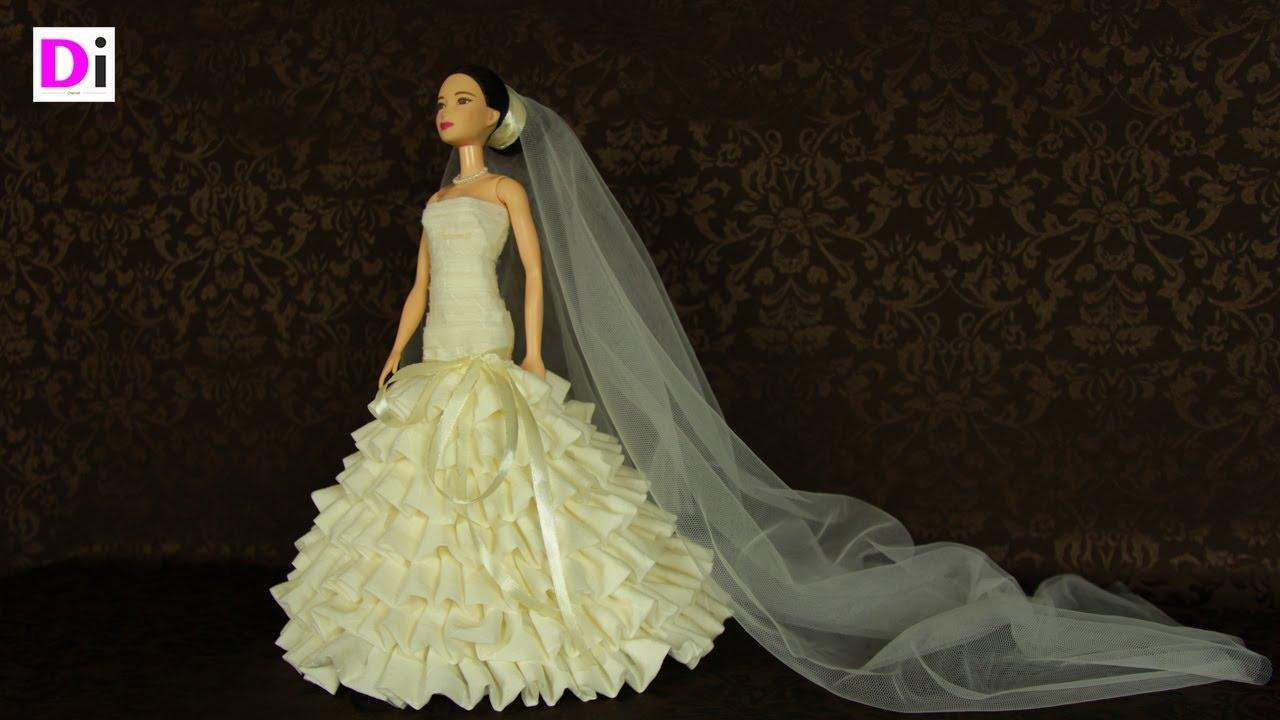 Свадебное платье на куклу своими руками выкройки фото 752