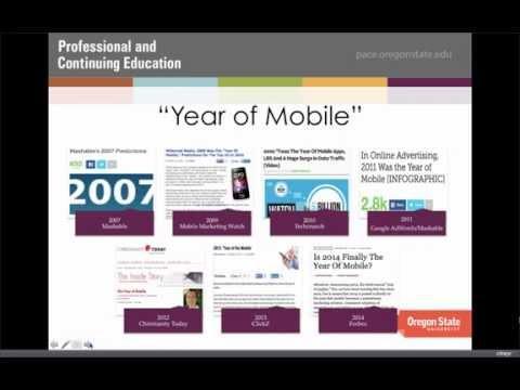 Mobilegeddon Webinar | SEO Essentials | OSU's Professional and Continuing Education