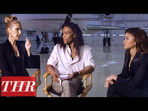 Celine Dion & Zendaya Play 'Guess That Song' with Stylist Law Roach | THR