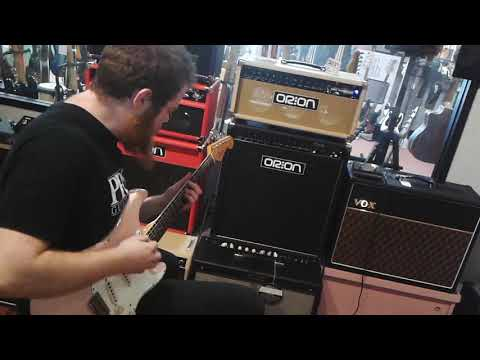 Wynn McElwee Hendrix Inspired Clean with the Orion Nebula Amplifier