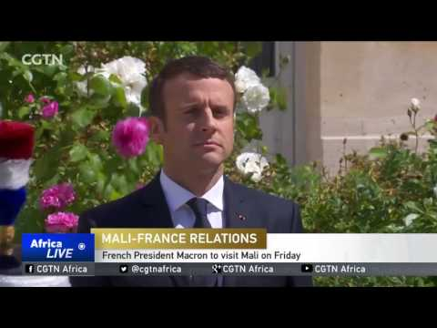French President Macron to visit Mali on Friday