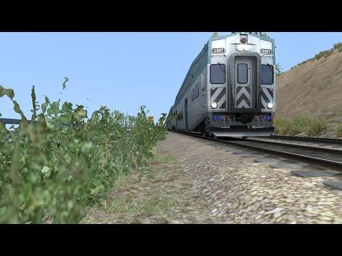 [HD] Train Simulator 2017 HD: Coaster Cab Ride Oceanside- Old Town San Diego