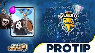 CLASH ROYALE PROTIPS #6 - LEARN HOW TO USE THE SKELETON BARREL