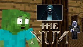 Monster School: THE NUN HORROR CHALLENGE- Minercatf Animation