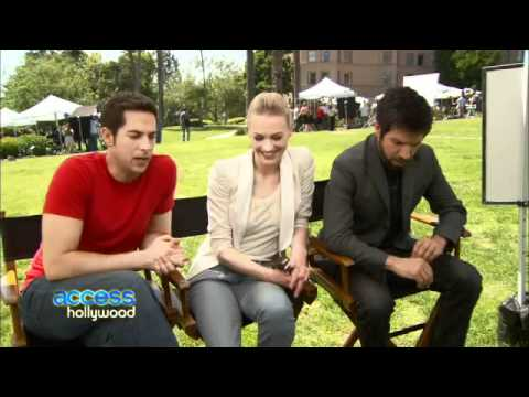 Access Hollywood ~ Interview With ZL, YS & JG (NBCU Summer Press Day) Will There Be A Chuck Musical